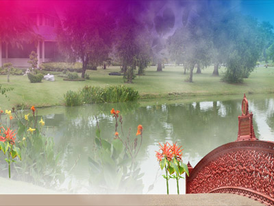 Романтические места на обоях с яркими и красочными местами