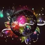 Цветные живые обои в параллельной вселенной