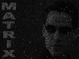 Neo из Матрицы в картинке