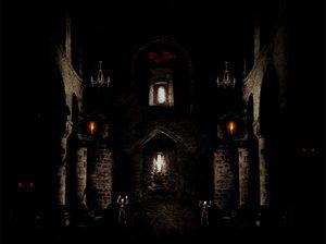Черный замок в котором живет темный король на обоях
