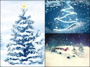 Новогодние и рождественские обои