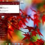 Тема для Windows 7 про осень