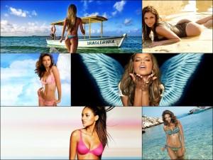 Бразильские Девушки на ярких пляжах и в райской атмосфере