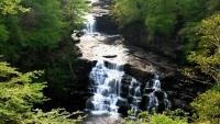 Живой водопад с классным видом