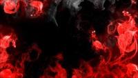 Цветное пламя в очень ярком виде для рабочего стола